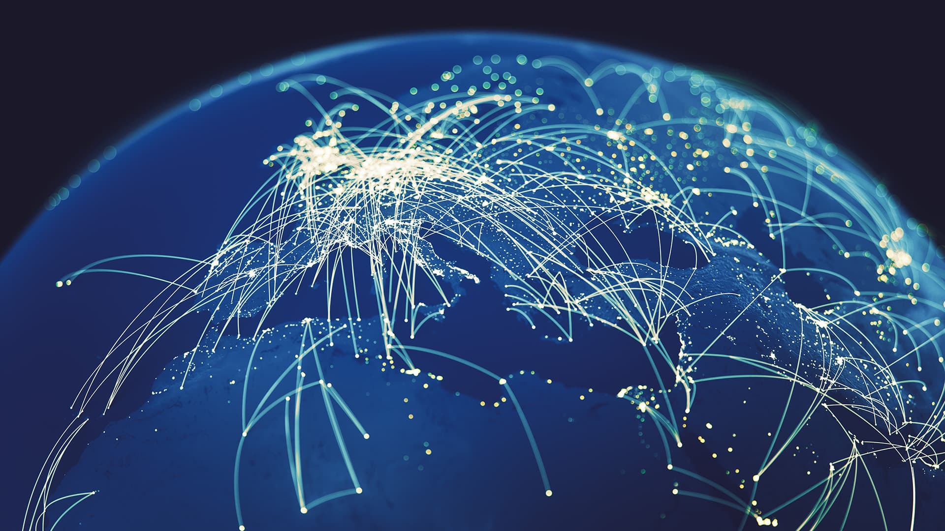 Web developer connections around the world