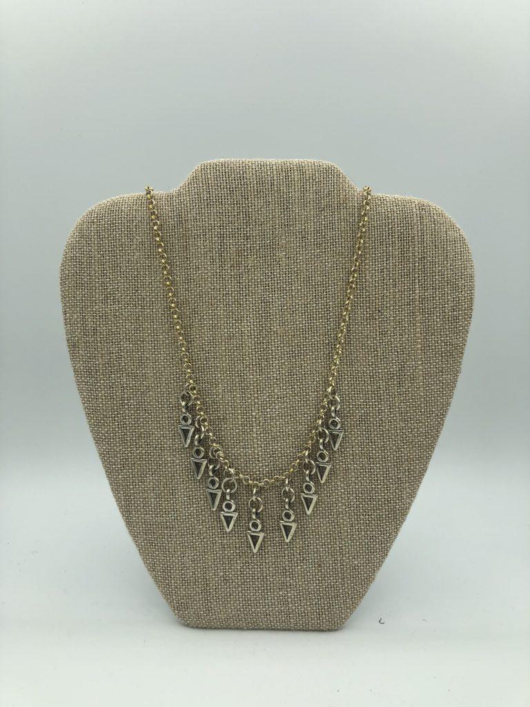 Albertine Crow Shoe Necklace,