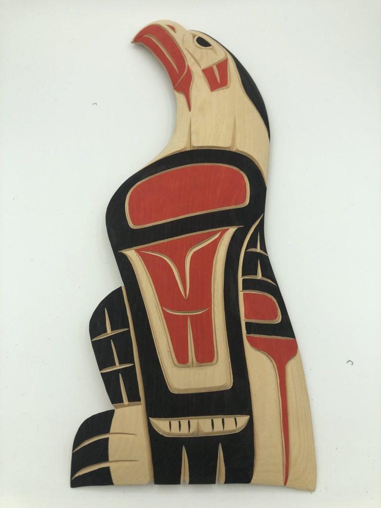 Eagle Woodcut