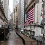 Equities dip but remain on pace for best month on record