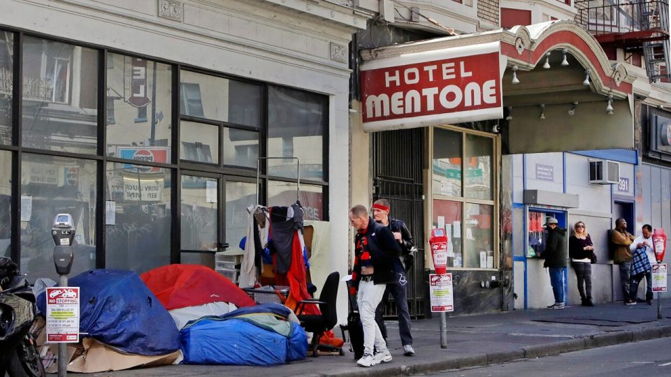 San Francisco neighborhood sues over 300 percent jump of homeless sidewalk tents during coronavirus outbreak
