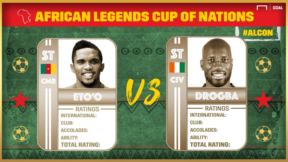 African Legends Cup of Nations: Eto'o vs Drogba