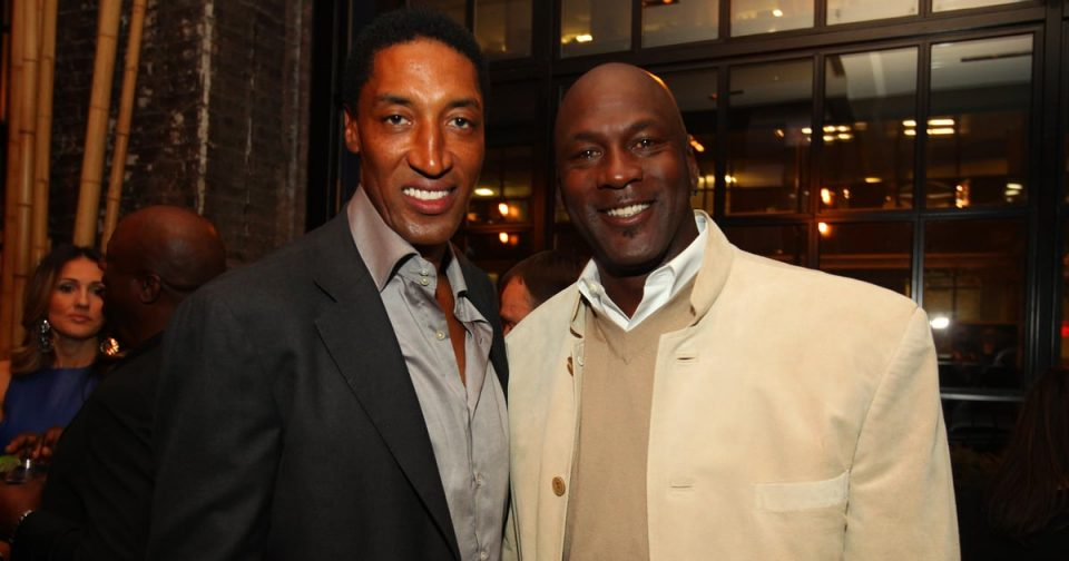 Are Michael Jordan and Scottie Pippen Friends?