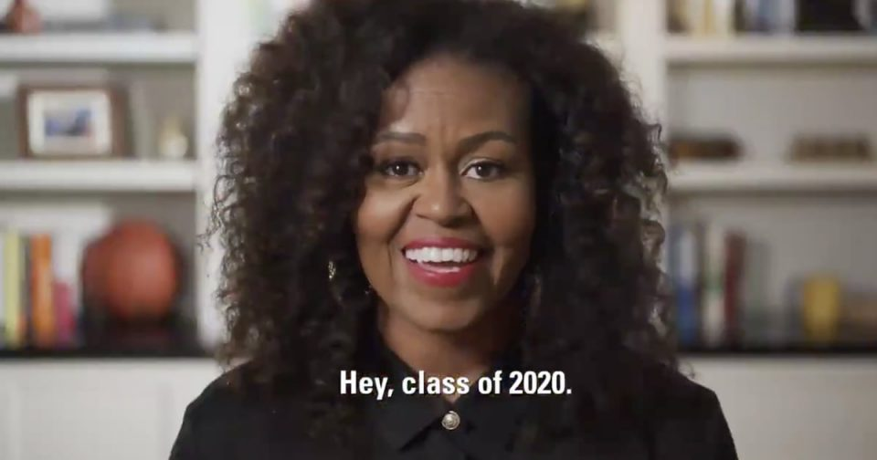 Watch Michelle Obama's MTV Prom-athon Speech Video