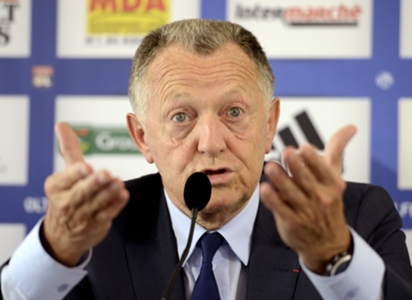 Lyon president Aulas hits out at 'stupid' Ligue 1 decision