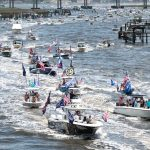 Memorial Day sees MAGA boat parades, busy bars and boardwalk shootings as Americans adapt to changing social distancing norms