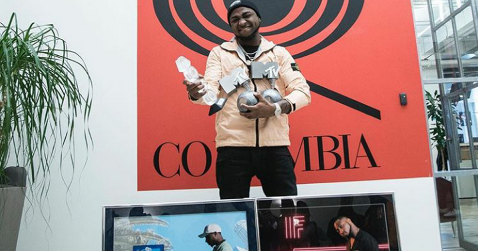Davido's 'Fall' certified gold in the US and Canada [ARTICLE]
