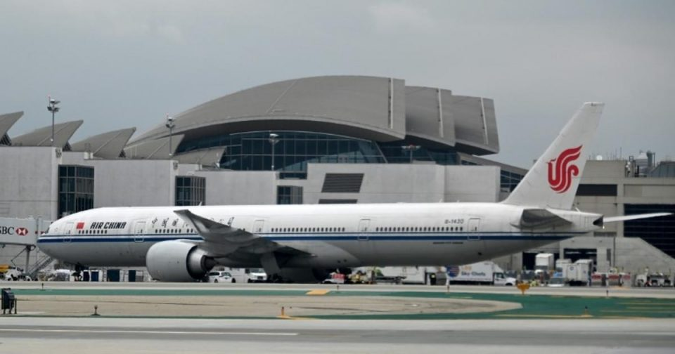 US suspends flights by Chinese airlines in spat with Beijing [ARTICLE]