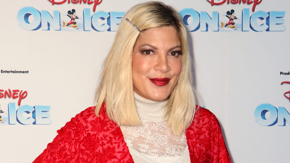 Tori Spelling reveals her dog suffered 'near-death experience'