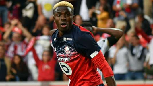 Osimhen set to leave Lille this summer, admits coach Galtier