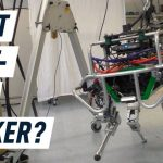 Tightrope walking robot has some serious potential