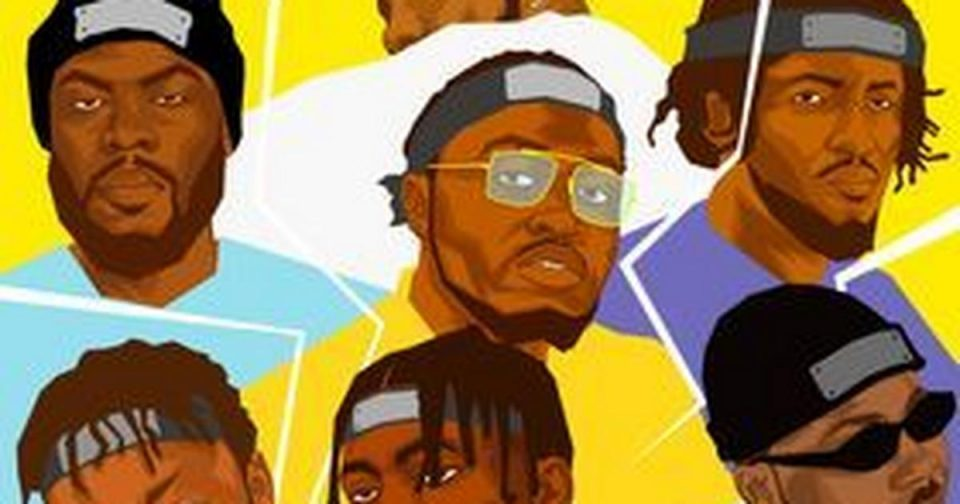Alpha Ojini features Hotyce, Paybac, Payper Corleone, Psycho YP, Vader and Zilla Oaks on 'Pop [Remix]' [ARTICLE]