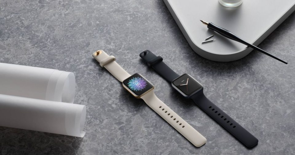 Oppo made an Apple Watch clone that can match your 'lewk' to its face