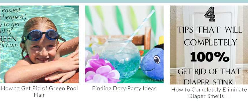 Goodwill variety of tutorials on cleaning, organizing, and decorating