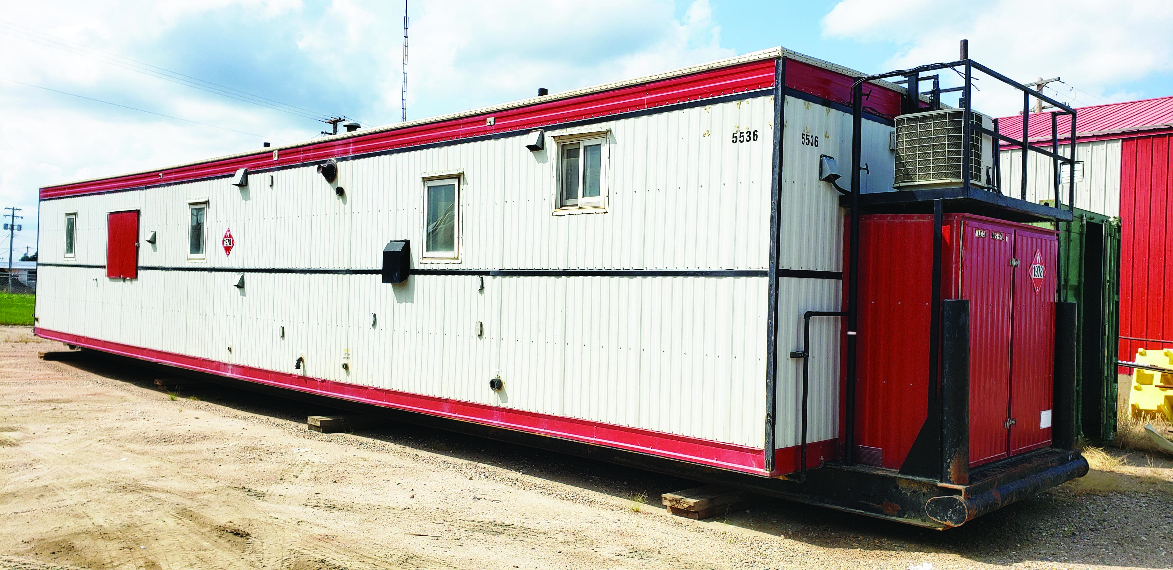 60' Skidded Office Trailer