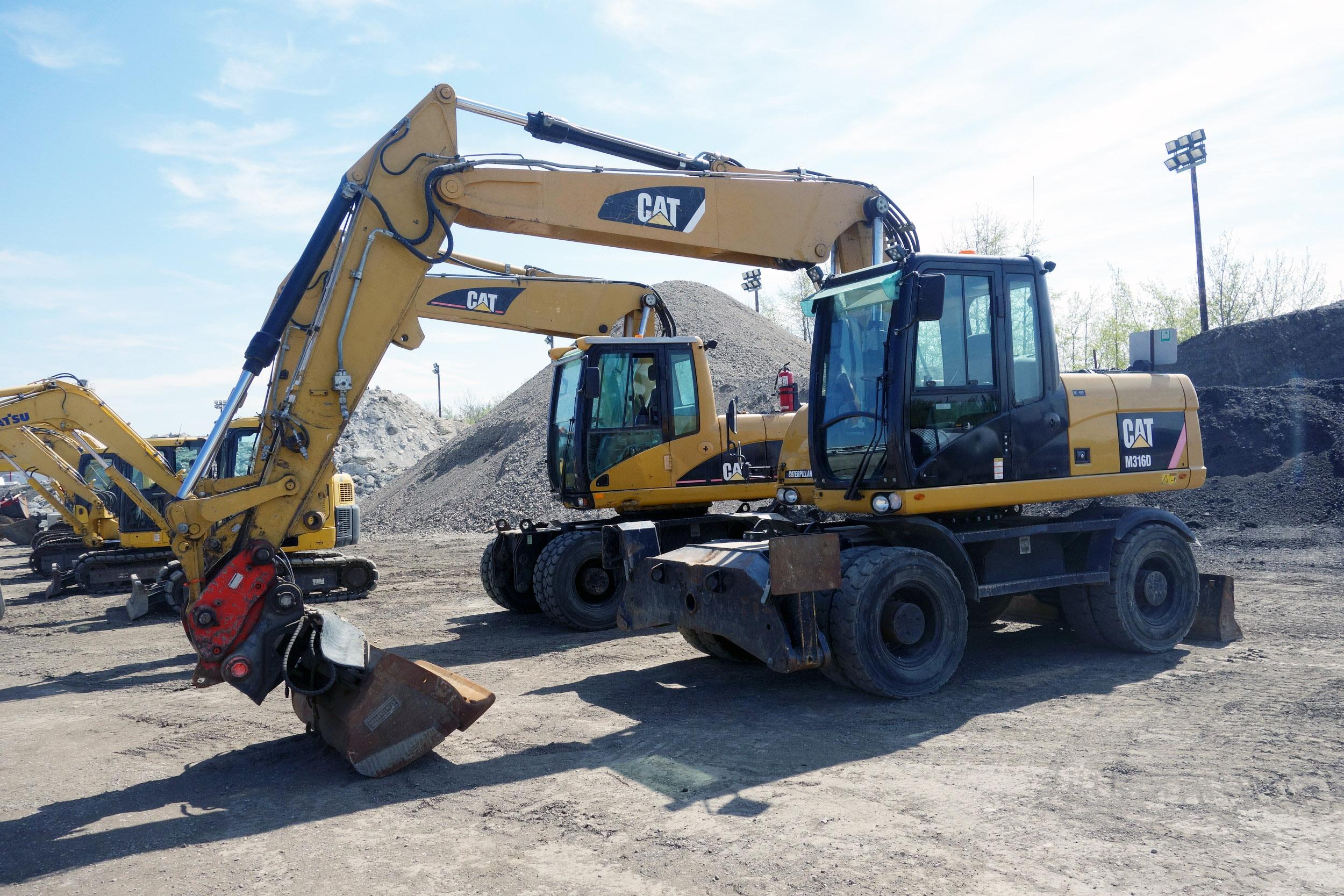 2011 Cat M316D Rubber-Tired Excavator