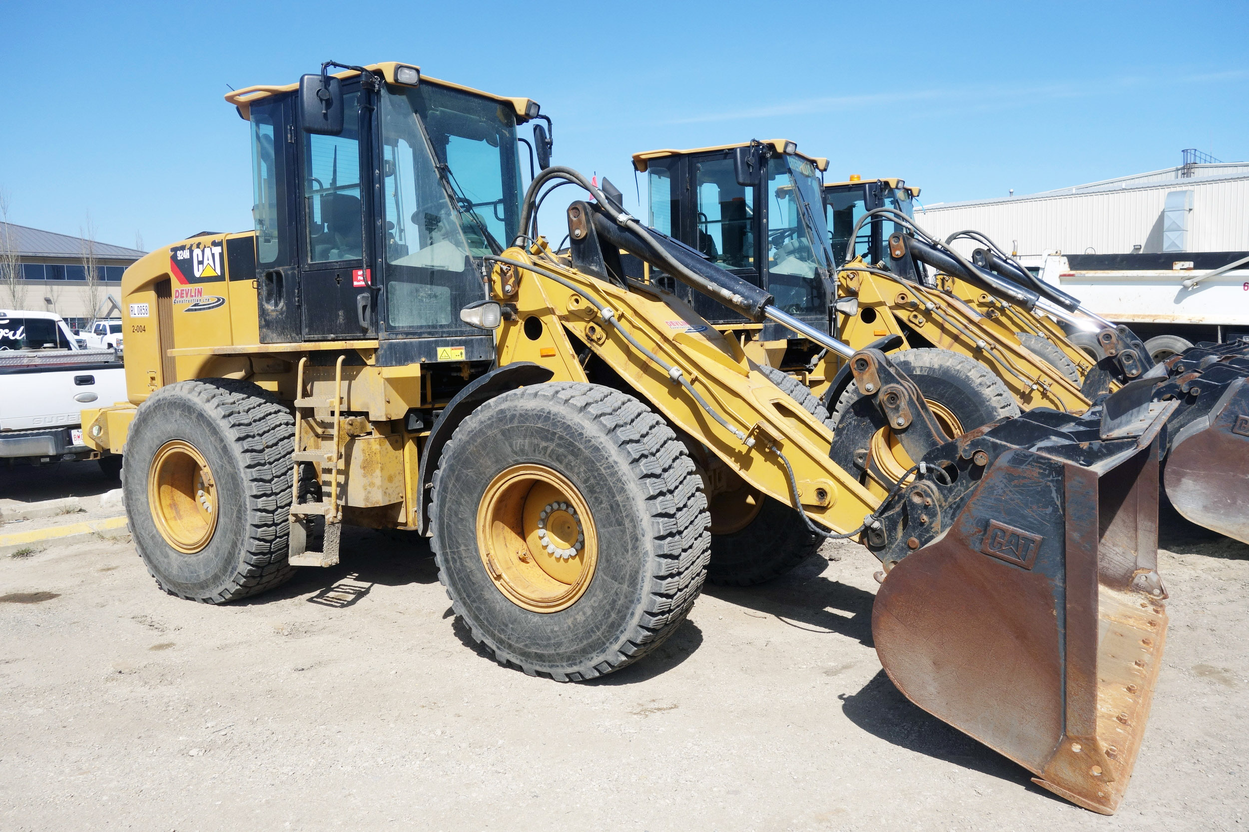 2012 Cat 924H Wheel Loader (3 Available)