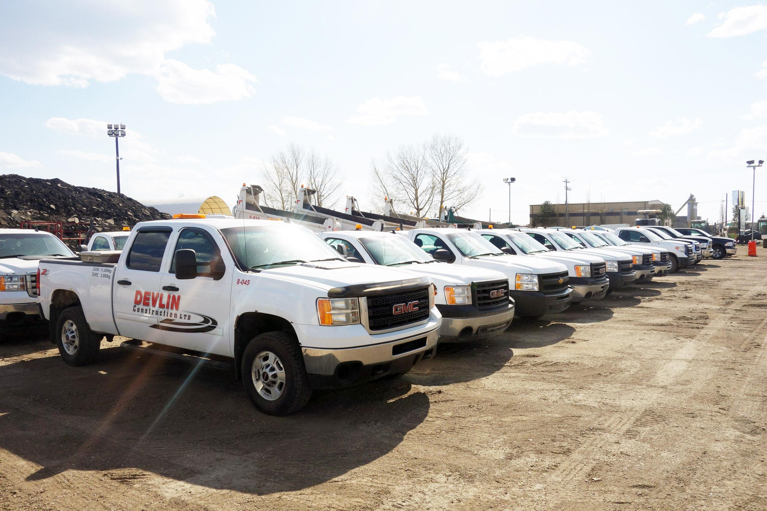 Service & Pickup Trucks