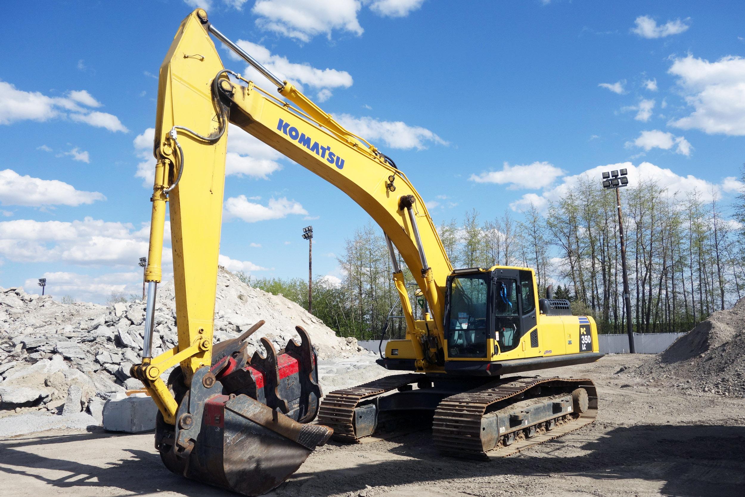 2017 Komatsu 350LC-8 Hydraulic Excavator
