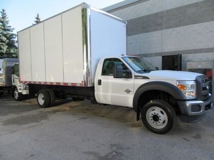 Ford F550 16FT HIGH BOX WITH RAMP