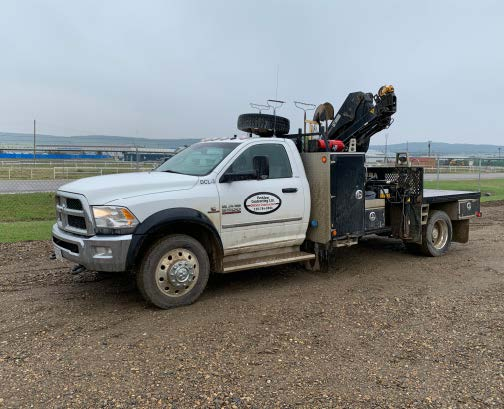 2014 DODGE 5500HD HIAB BOOM TRUCK