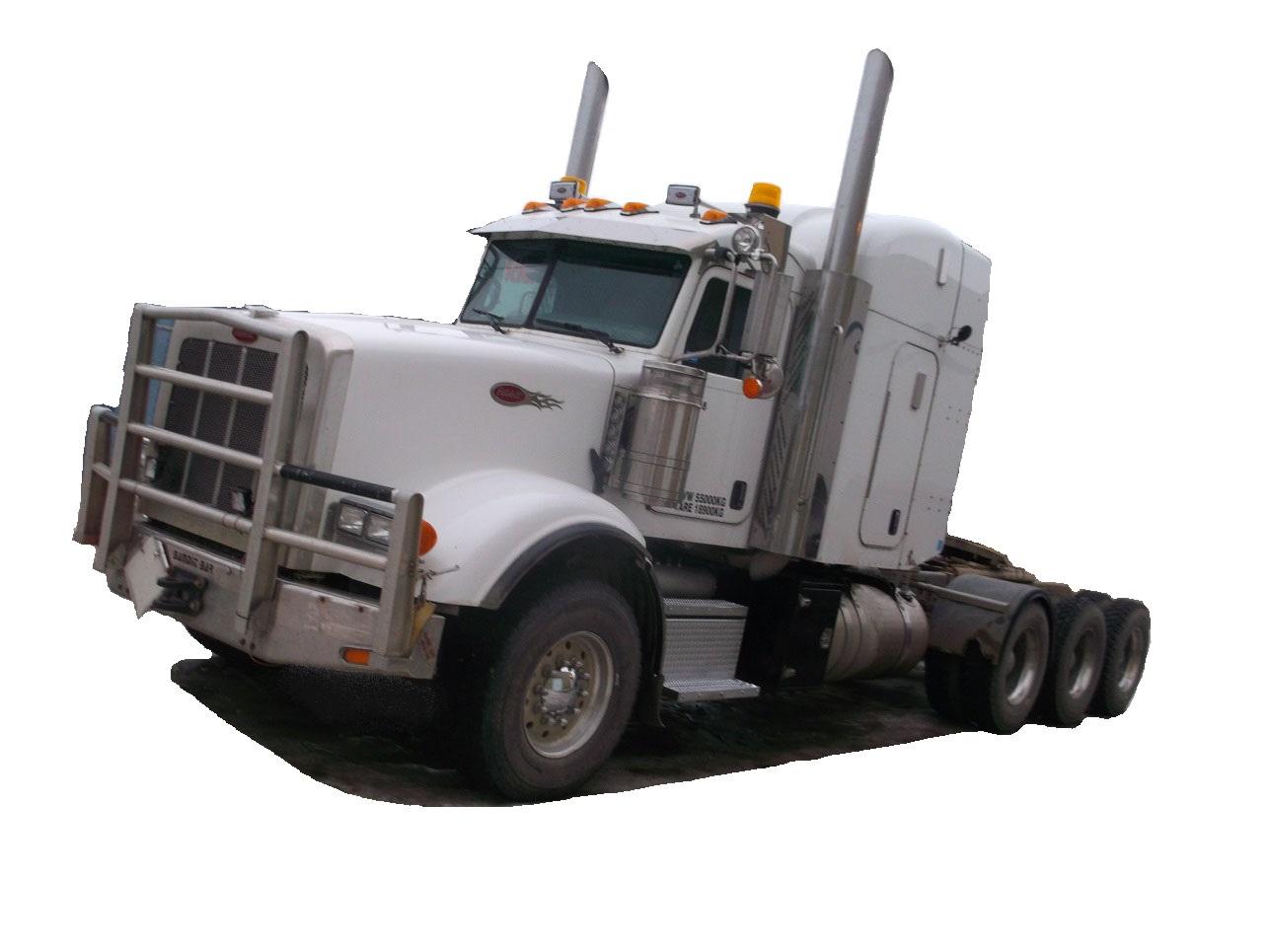 PETERBILT 367 TRI-DRIVE