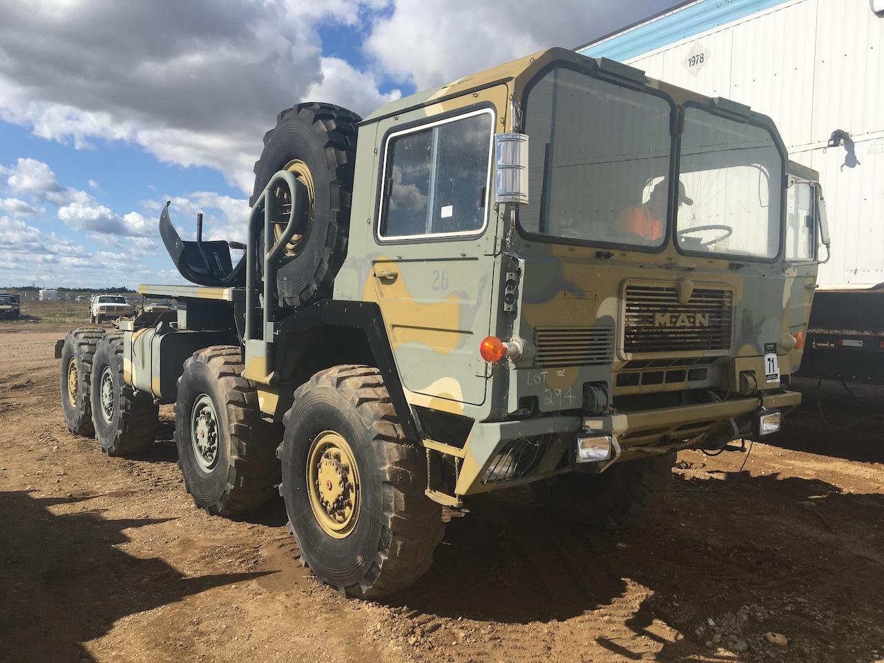 2004 Mann Freeland 8WD Diesel Army Truck