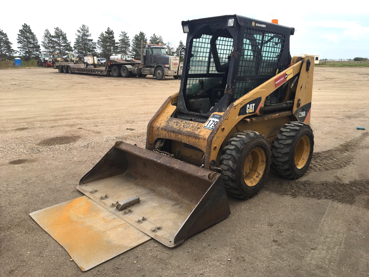 2010 Cat 225B Skid Steer