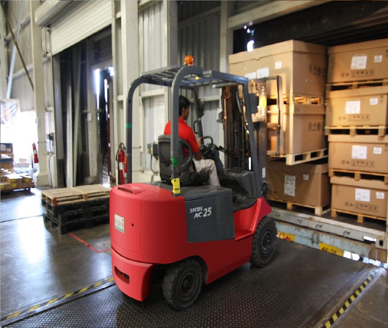 Forklift Travel Safety Tool