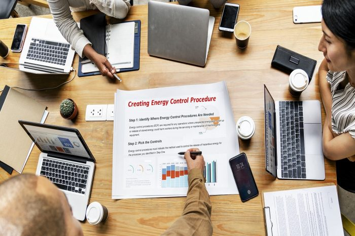Workplan: Creating Energy Control Procedures