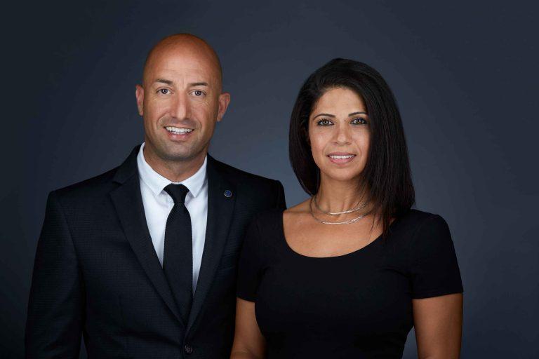 Robby and Tanya Halabi of Infill Edmonton by Rimrock Real Estate