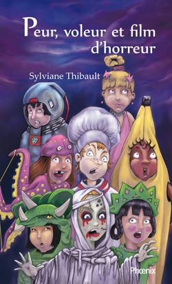 couverture du livre peur, voleur et film d'horreur