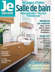 Magazine Je décore: Salle de bain