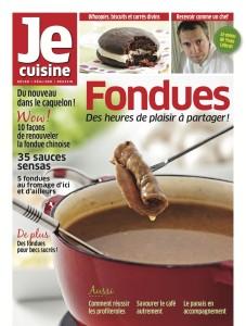 Magazine Je cuisine : Fondues