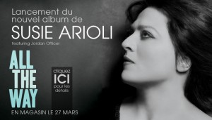 Lancement du nouvel album de Susie Arioli / All the way