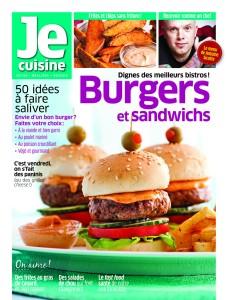 Je cuisine - Burgers et sandwichs
