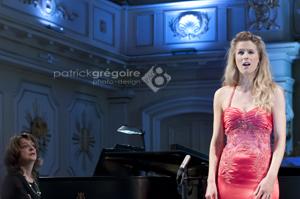 Stéphanie Lavoie soprano et Claude Soucy pianiste.