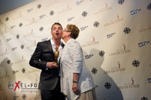 Philippe Bond et sa mère