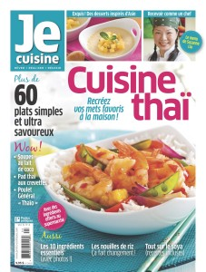Je Cuisine, cuisine thaï