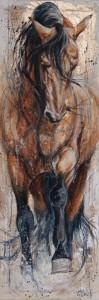 Élise Genest (peindre et dessiner des chevaux)