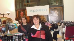 """Moi et mon nouveau chandail  """"Myco Anna"""""""