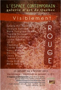 Visiblement Rouge