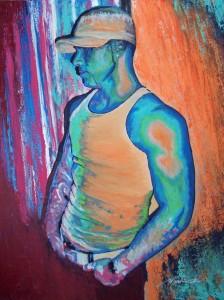 Les couleurs de l'âme Flash Coiffure reçoit l'artiste peintre-portraitiste Côtyne