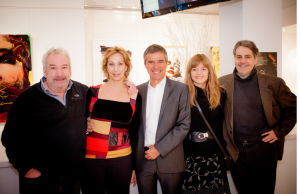 Claude Lemieux, Danielle Proux, Guy Corneau, Corinne Chevarier, Jacques Baril