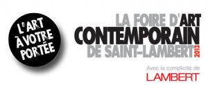 La Foire d'art contemporain de Saint-Lambert