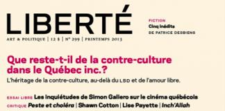 Revue Liberté - Printemps 2013 (source photo : page facebook Revue Liberté)