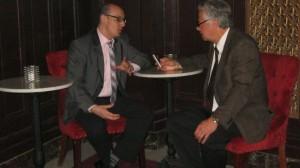 Vincent Fournier, président sortant et Marc Alarie