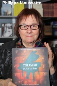 Monique Vaillancourt-Lelièvre  au Salon du Livre de Québec