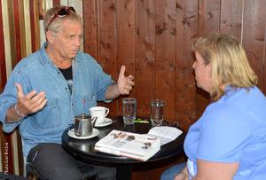 Paul Ohl et Shirley Noel en entrevue