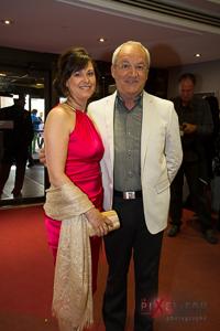 Michel Barrette et sa charmante épouse